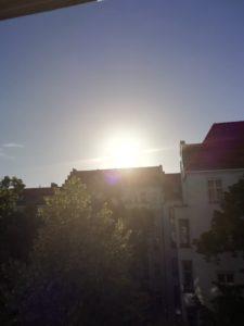 ベルリン、早朝7時